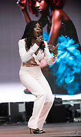 Heather Small at Camp Bestival 2021, Lulworth Castle photo by Brian Jordan