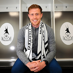 TELFORD COPYRIGHT MIKE SHERIDAN New AFC Telford United signing Jack Byrne at the New Bucks Head Stadium on Thursday, June 11, 2020.<br /> <br /> <br /> Picture credit: Mike Sheridan/Ultrapress<br /> <br /> MS202021