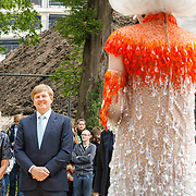 NLD/Utrecht/20160518 - Bezoek Koning Willem-Alexander aan het Hubrecht Instituut Utrecht, Dolly Bellefleur