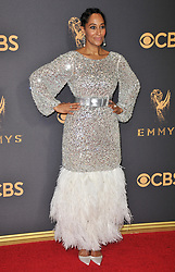 Tracee Ellis Ross at the 69th Annual Emmy Awards held at the Microsoft Theater on September 17, 2017 in Los Angeles, CA, USA (Photo by Sthanlee B. Mirador/Sipa USA)