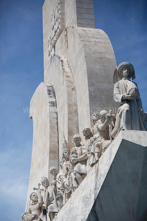 La Route des Princes. Lisbon. Portugal.<br /> Pictures of the Navigator monument . <br /> Credit: Lloyd Images