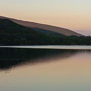 Last light, Loch Riddon, Argyll & Bute, Scotland.