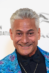 Greg Louganis pictured backstage at the Attitude Awards, where he won won the Sport award, at the Roundhouse in North London. Picture date: Thursday October 12th, 2017. Photo credit should read: Matt Crossick/ EMPICS Entertainment.