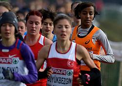 08-12-2013 ATHLETICS: SPAR EC CROSS COUNTRY: BELGRADE<br /> -23 Vrouwen op de 6 km / Sifan Hassan wint de 6 km in 19.40.<br /> ©2013-WWW.FOTOHOOGENDOORN.NL