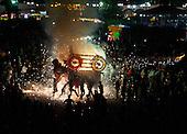 Firework festivities in Tultepec, Estado de Mexico