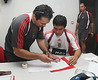 20090629: LISBON, PORTUGAL - SL Benfica first day of the season - Medical Tests at Lusiadas Hospital. In picture. Jose Shaffer. PHOTO: CIYTFILES
