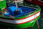 Fishing boat in San Sebastian harbor (Spain)