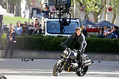 TOM CRUISE FILMING 'IMPOSSIBLE MISSION' 6