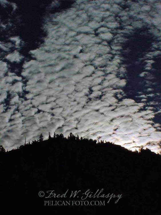Clouds At Lake Tahoe 1