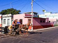 Street corner in Cardenas, Matanzas, Cuba.