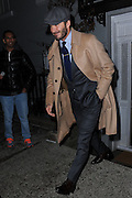 Feb. 8, 2016 - New York, NY, USA -<br /> <br /> David Beckham leaving a party held at the residence of Anna Wintour on February 8, 2016 in New York City.<br /> ©Exclusivepix Media
