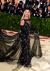 Rita Ora attending the Metropolitan Museum of Art Costume Institute Benefit Gala 2018 in New York, USA. PRESS ASSOCIATION Photo. Picture date: Monday May 7, 2018. See PA story SHOWBIZ MET Gala. Photo credit should read: Ian West/PA Wire