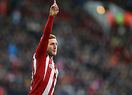 Billy Sharp of Sheffield Utd during the English League One match at Bramall Lane Stadium, Sheffield. Picture date: December 26th, 2016. Pic Simon Bellis/Sportimage