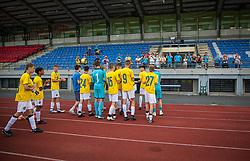 2nd. place: NK Bravo Ljubljana during medal ceremony of the Ljubljana Open Cup 2021. , on 12.06.2021 in ZAK Stadium, Ljubljana, Slovenia. Photo by Urban Meglič / Sportida