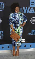 June 25, 2017 - Los Angeles, California, U.S - Yvette Nicole Brown at the BET Awards 17 held at the JW Marriot in Los Angeles, California on Sunday June 25, 2017. (Credit Image: © Prensa Internacional via ZUMA Wire)