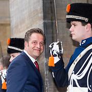 NLD/Amsterdam/20190115 - Koninklijke nieuwjaarsontvangst Nederlandse genodigden, Hugo de Jonge