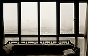 The view from an apartment in Beijing.