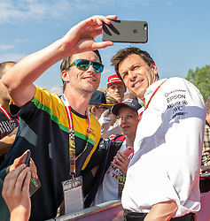 02.07.2016, Red Bull Ring, Spielberg, AUT, FIA, Formel 1, Roter Teppich, im Bild Teammanager Toto Wolff (AUT) Mercedes AMG Petronas F1 Team // Mercedes AMG F1 Director of Motorsport Toto Wolff (AUT) during the red carpet of at the Red Bull Ring in Spielberg, Austria, 2016/07/02, EXPA Pictures © 2016, PhotoCredit: EXPA/ Dominik Angerer