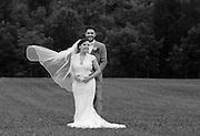 Kelley Amidon and David Kroviak marry in Rome, N.Y., Saturday, June 6, 2014.<br /> (Photos by Heather Ainsworth)