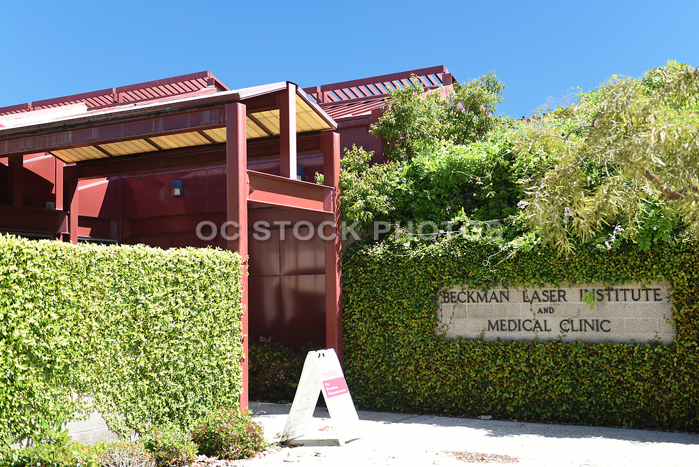 Front Entrance to The Beckman Laser Institute and Medical Clinic, on the Campus of the University of California Irvine