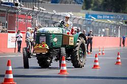 21.05.2016, Red Bull Ring, Spielberg, AUT, DTM, Red Bull Ring Spielberg, Traktor Rennen, im Bild António Félix da Costa (POR / BMW Team Schnitzer) // during a trekker race at the DTM at the Red Bull Ring, Spielberg, Austria on 2016/05/21, EXPA Pictures © 2016, PhotoCredit: EXPA/ Erwin Scheriau