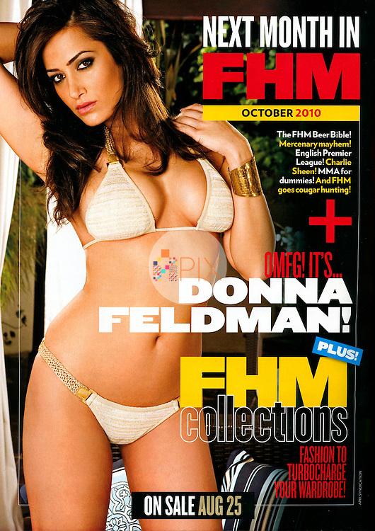 Donna Feldman in FHM South Africa :: September 2010