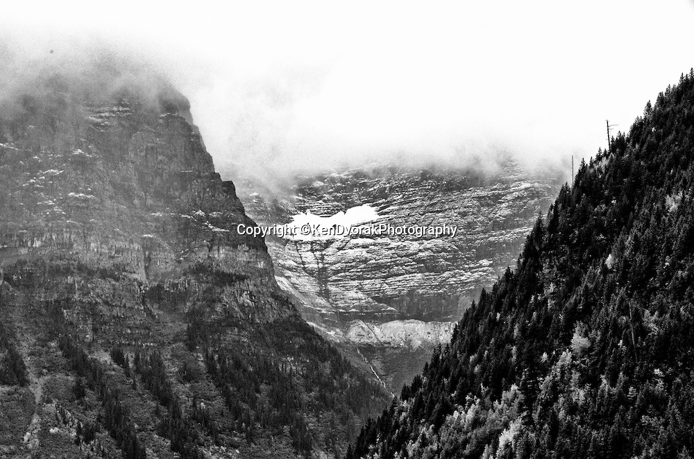 Glacier NP 2013<br />edited 11/16/13<br />converted to B&W 11/18/13