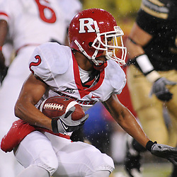 Oct 23, 2009; West Point, N.Y., USA; Rutgers wide receiver Tim Brown (2) runs for yards after a catch during Rutgers' 27 - 10 victory over Army at Michie Stadium.