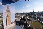 Linz, Austria. HÖHENRAUSCH.3<br /> Die Kunst der Türme (The Art of Towers)<br /> View from Oberösterreich-Turm (Upper Austria Tower)