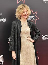 Meg Ryan attends UK premier of her film Ithica which she directed.<br /> <br /> (c) Alex Todd   Edinburgh Elite media