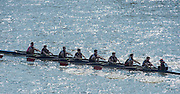 Chiswick, London, Great Britain.<br /> London Oratory School 2nd Eight. competing in the 2016 Schools Head of the River Race, Reverse Championship Course Mortlake to Putney. River Thames.<br /> <br /> Thursday  17/03/2016<br /> <br /> [Mandatory Credit: Peter SPURRIER;Intersport images]