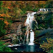 Bald River Falls, Cherokee National Forest. 4x5 Kodak Ektar 100. photo by Nathan Lambrecht