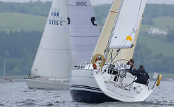 Day 2 Sailing, SCOTLAND<br /> <br /> Class 10, Torridon, Jeanneau SO32i, 290C<br /> <br /> The Scottish Series, hosted by the Clyde Cruising Club is an annual series of races for sailing yachts held each spring. Normally held in Loch Fyne the event moved to three Clyde locations due to current restrictions. <br /> <br /> Light winds did not deter the racing taking place at East Patch, Inverkip and off Largs over the bank holiday weekend 28-30 May. <br /> <br /> Image Credit : Marc Turner / CCC