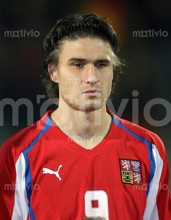 Fussball  International    U21 LAENDERSPIEL  Deutschland - Tschechische Republik    Michal PAPADOPULOS (CZE)