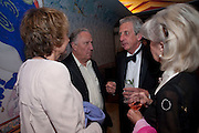 FREDERICK FORSYTH; ROBERT LACEY, Early launch of Rupert's. Robin Birley  new premises in Shepherd Market. 6 Hertford St. London. 10 June 2010. .-DO NOT ARCHIVE-© Copyright Photograph by Dafydd Jones. 248 Clapham Rd. London SW9 0PZ. Tel 0207 820 0771. www.dafjones.com.