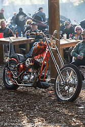 Custom Sportster at the Cycle Source bike show at the Broken Spoke Saloon during Daytona Beach Bike Week. FL. USA. Tuesday, March 14, 2017. Photography ©2017 Michael Lichter.
