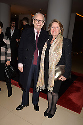 Lord John Gummer and Penelope Gummer at the Giselle Premier VIP Party, St.Martin's Lane Hotel, London England. 11 January 2017.