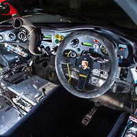 1994 Dauer Porsche 962 LM GT, chassis 001 at the Porsche Museum, Stuttgart, Germany, 2019