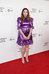 Hannah Murray at 'Charlie Says' at the Tribeca Film Festival in New York City.