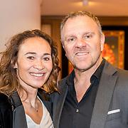 NLD/Noordwijk/20180409 - Strong Women Award 2018, Bibian Mentel en partner Edwin Spee