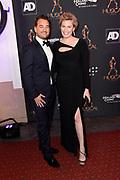 Musical Awards Gala 2018 in het Circustheater, Scheveningen.<br /> <br /> Op de foto:  Marlijn Weerdenburg en Rik van de Westelaken