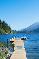 Log Cabin Resort, Lake Crescent. Olympic National Park, WA
