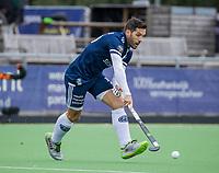 AMSTELVEEN - Agustin Mazzilli (Pinoke)   tijdens   hoofdklasse hockeywedstrijd mannen, Pinoke-Kampong (2-5) . COPYRIGHT KOEN SUYK