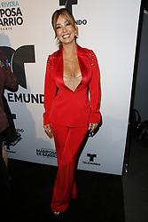 LOS ANGELES, CA - JUNE 26: Myrka Dellanos arrives for the Screening Of Telemundo's 'Jenni Rivera: Mariposa De Barrio' at The GRAMMY Museum on June 26, 2017 in Los Angeles, California. Byline, credit, TV usage, web usage or linkback must read SILVEXPHOTO.COM. Failure to byline correctly will incur double the agreed fee. Tel: +1 714 504 6870.