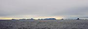 Seven Islands (Nor: Sjuöyane) off northern Spitsbergen, Svalbard in July 2012.