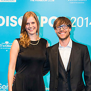 NLD/Amsterdam//20140331 - Uitreiking Edison Pop 2014, Maaike Ouboter en Giel Beelen