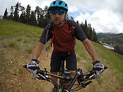 SHOT 8/5/17 12:53:24 PM - GoPro Hero 5 photos while riding Brian Head Resort in Brian Head, Utah with Vesta Lingvyte of Denver, Co. (Photo by Marc Piscotty / © 2017)