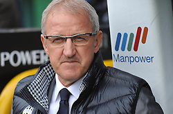 17.10.2010, Stadio Olimpico, Turin, ITA, Serie A, Juventus Turin vs US Lecce, im Bild L'allenatore Luigi Del Neri (Juventus) .EXPA Pictures © 2010, PhotoCredit: EXPA/ InsideFoto/ Giorgio Perottino +++++ ATTENTION - FOR AUSTRIA AND SLOVENIA CLIENT ONLY +++++..