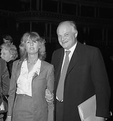 SIR JAMES & LADY ANNABEL GOLDSMITH in London 20th March 1979.