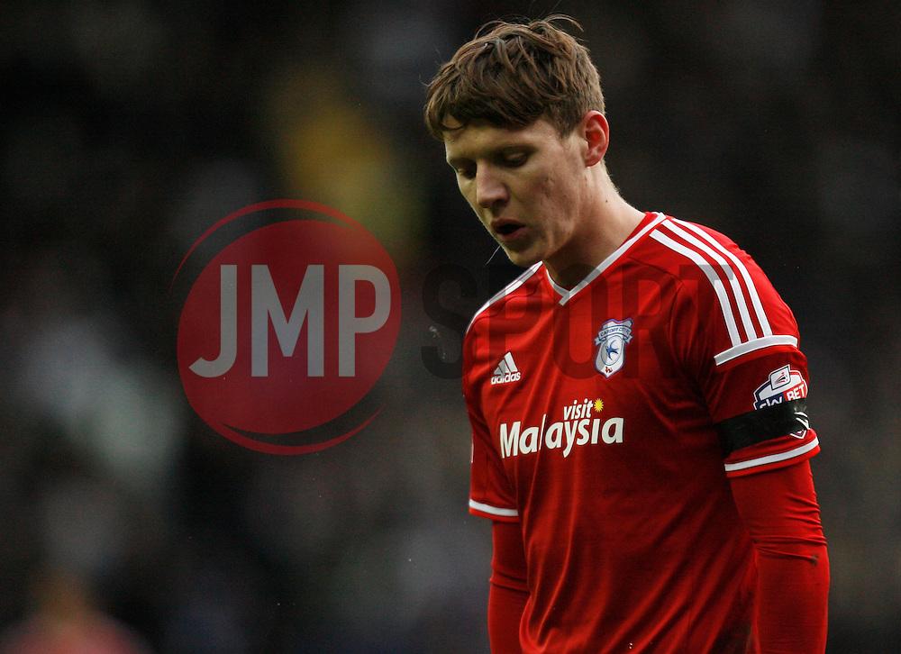 Joe Mason of Cardiff City - Mandatory byline: Jack Phillips / JMP - 07966386802 - 21/11/2015 - FOOTBALL - The iPro Stadium - Derby, Derbyshire - Derby County v Cardiff City - Sky Bet Championship